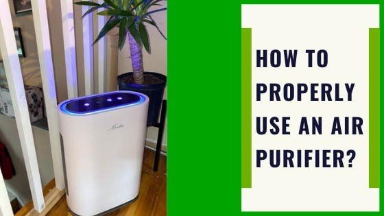 how to use an air purifier
