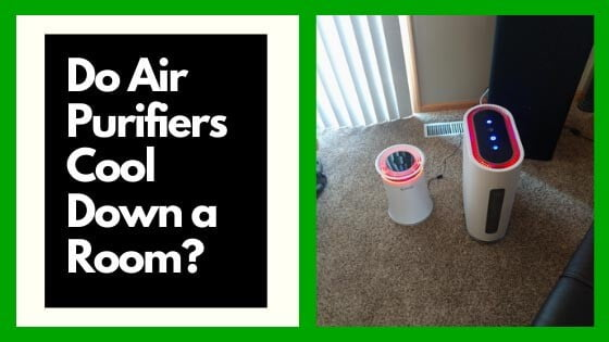 do air purifiers cool down a room