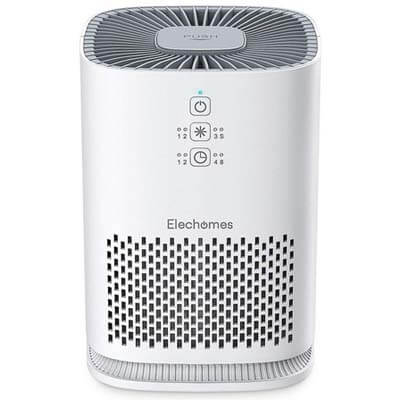 elechomes EPI081 air purifier for kitchen smells