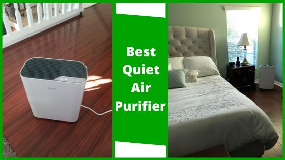best quiet air purifier for bedroom or office cubicle