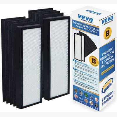 veva 8000 replacement filters